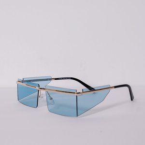 Blue Hybrid Papi Sunglasses